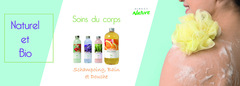 Bain et douche Naturel et Bio Direct Nature